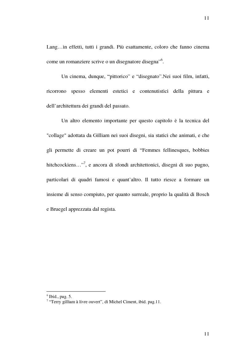 """Anteprima della tesi: Il cinema di Terry Gilliam: isotopie dell' """"altrove"""" e analisi di """"Brazil"""", Pagina 10"""