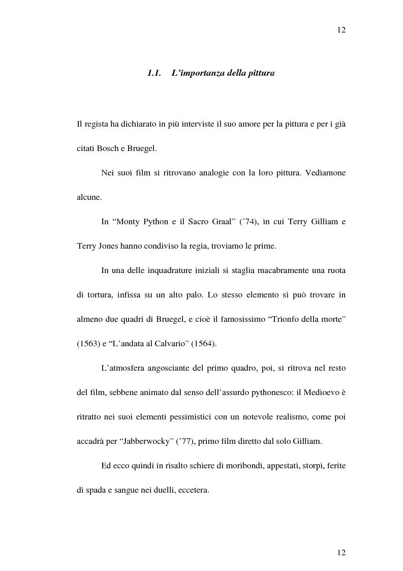 """Anteprima della tesi: Il cinema di Terry Gilliam: isotopie dell' """"altrove"""" e analisi di """"Brazil"""", Pagina 11"""
