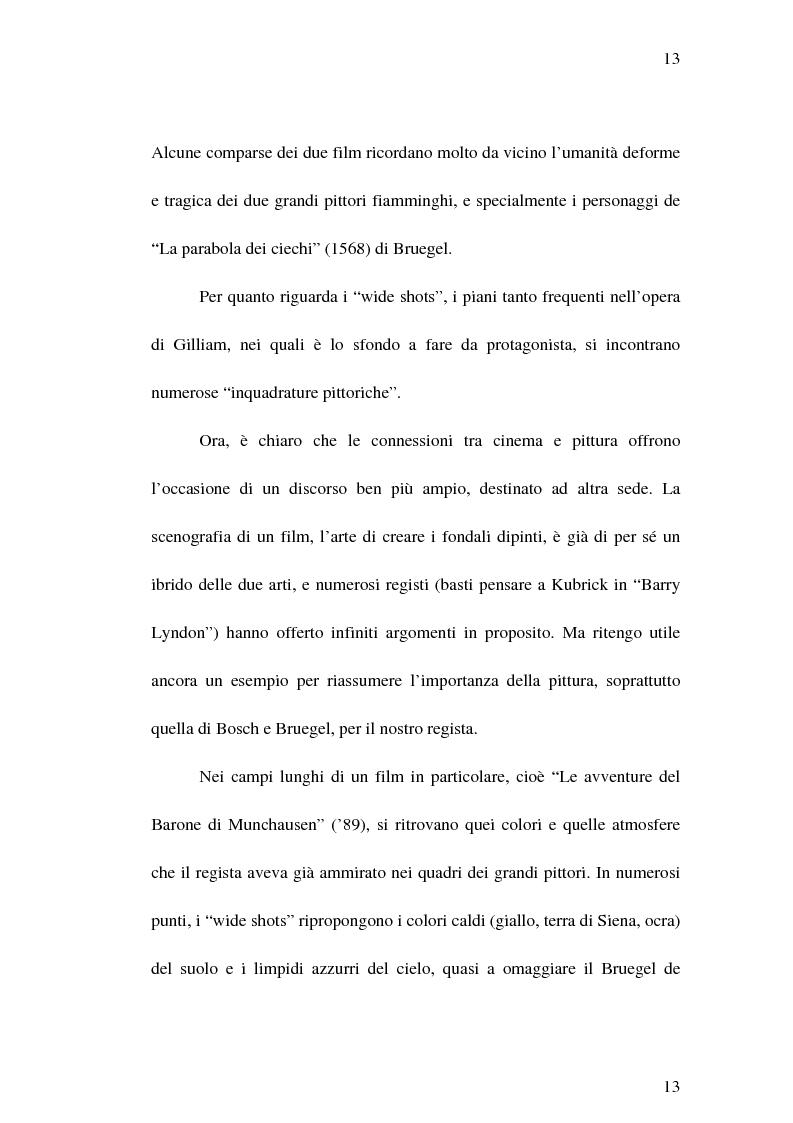 """Anteprima della tesi: Il cinema di Terry Gilliam: isotopie dell' """"altrove"""" e analisi di """"Brazil"""", Pagina 12"""