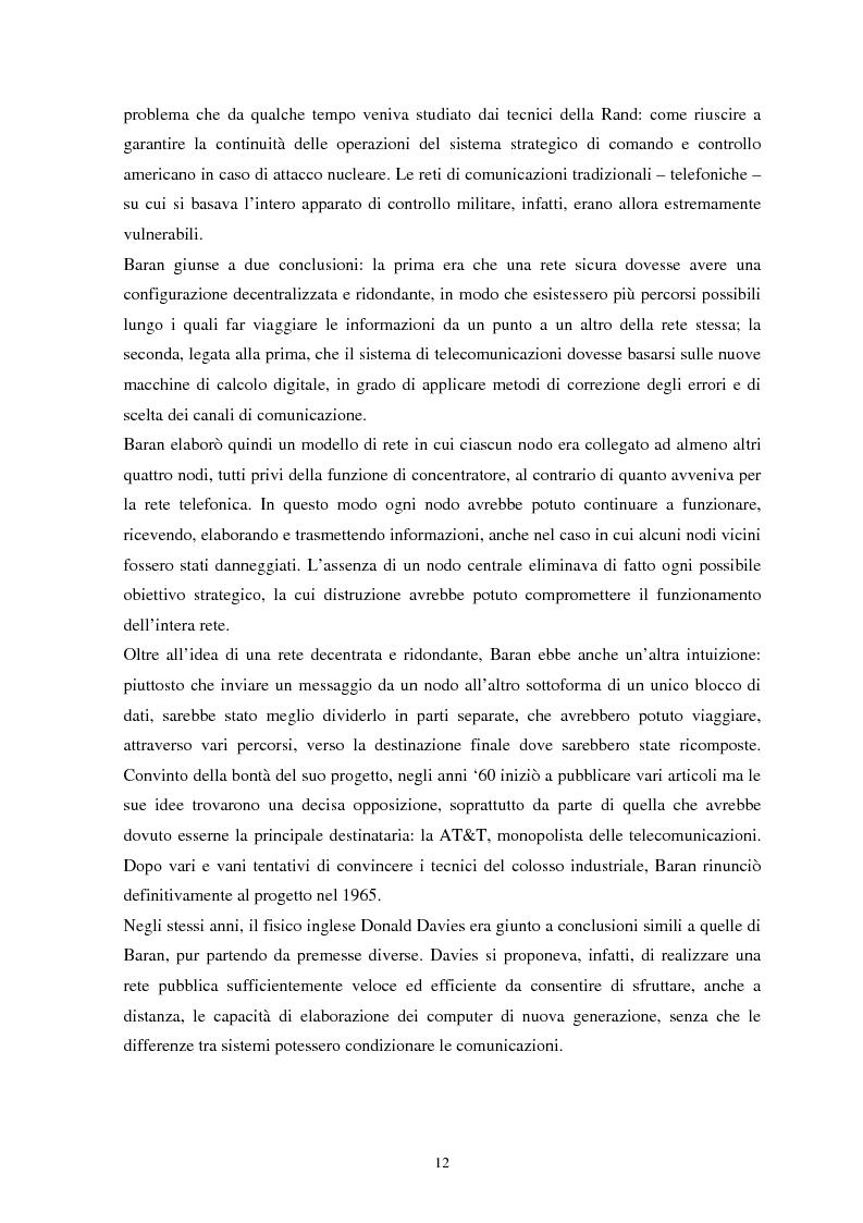 Anteprima della tesi: La sicurezza del cyberspazio: analisi e considerazioni, Pagina 12