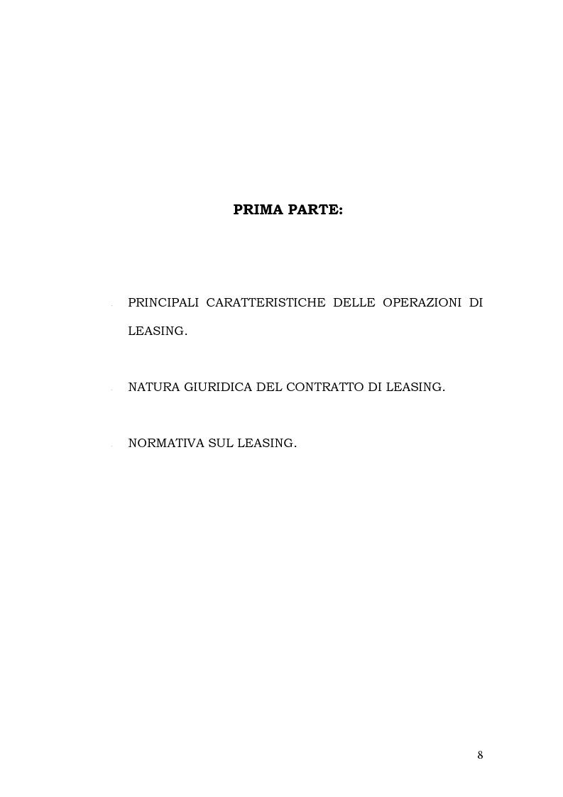 Anteprima della tesi: Il leasing in agricoltura, Pagina 5