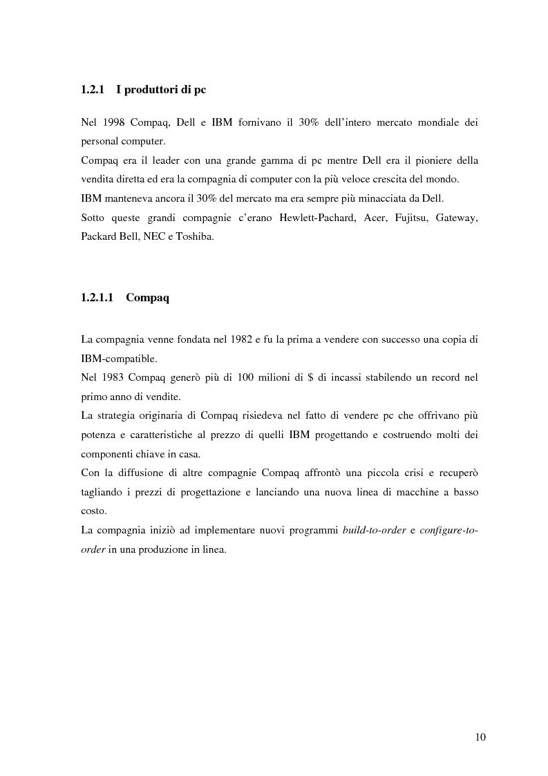 Anteprima della tesi: L'evoluzione della strategia di Apple Computer, Pagina 7