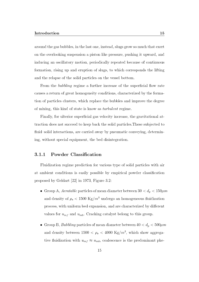 Anteprima della tesi: CFD Modelling of Fluidized Bed Reactors, Pagina 8