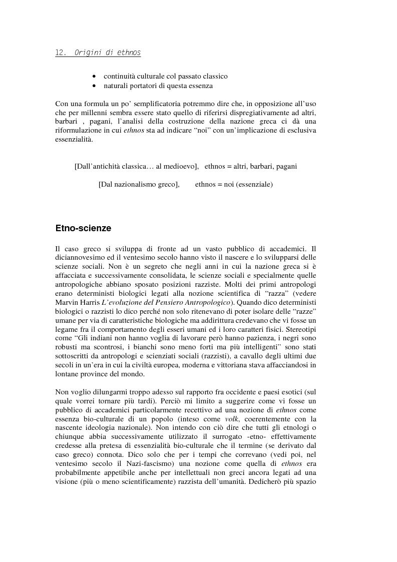 Anteprima della tesi: Evadere dall'Etnicità. Analisi e critica di una categoria dell'antropologia., Pagina 12
