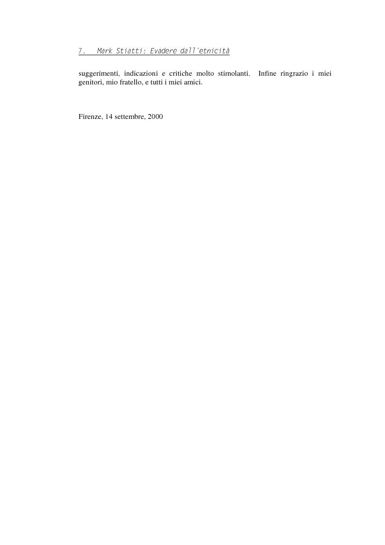 Anteprima della tesi: Evadere dall'Etnicità. Analisi e critica di una categoria dell'antropologia., Pagina 7