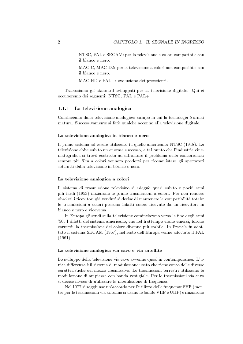 Anteprima della tesi: Ricevitore televisivo numerico., Pagina 10