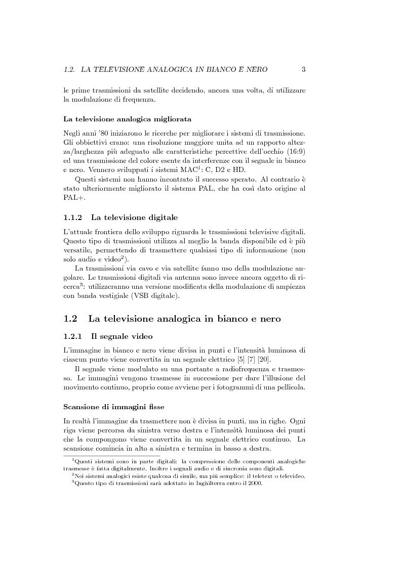 Anteprima della tesi: Ricevitore televisivo numerico., Pagina 11