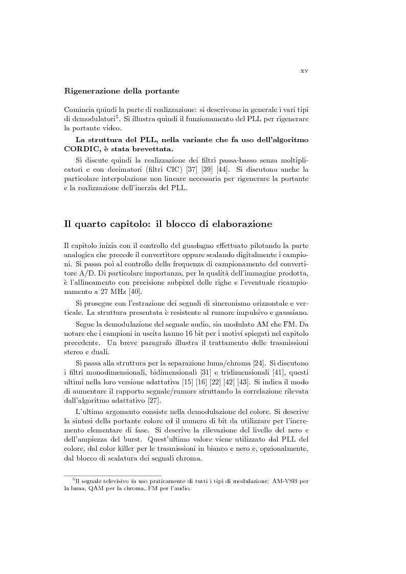 Anteprima della tesi: Ricevitore televisivo numerico., Pagina 7