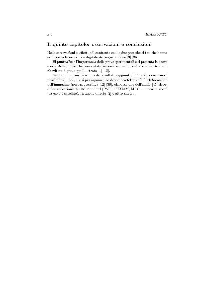 Anteprima della tesi: Ricevitore televisivo numerico., Pagina 8