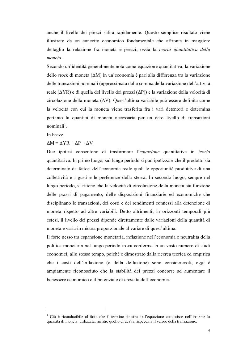 Anteprima della tesi: Il ruolo della politica monetaria nel G3, Pagina 2
