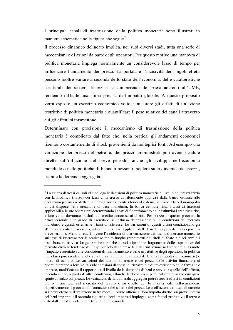 Anteprima della tesi: Il ruolo della politica monetaria nel G3, Pagina 3