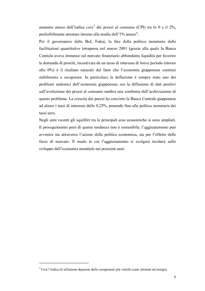 Anteprima della tesi: Il ruolo della politica monetaria nel G3, Pagina 6
