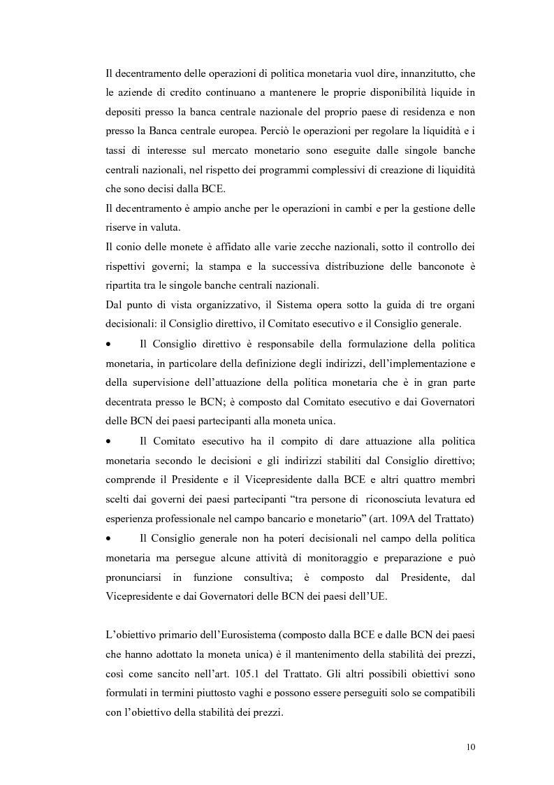 Anteprima della tesi: Il ruolo della politica monetaria nel G3, Pagina 8