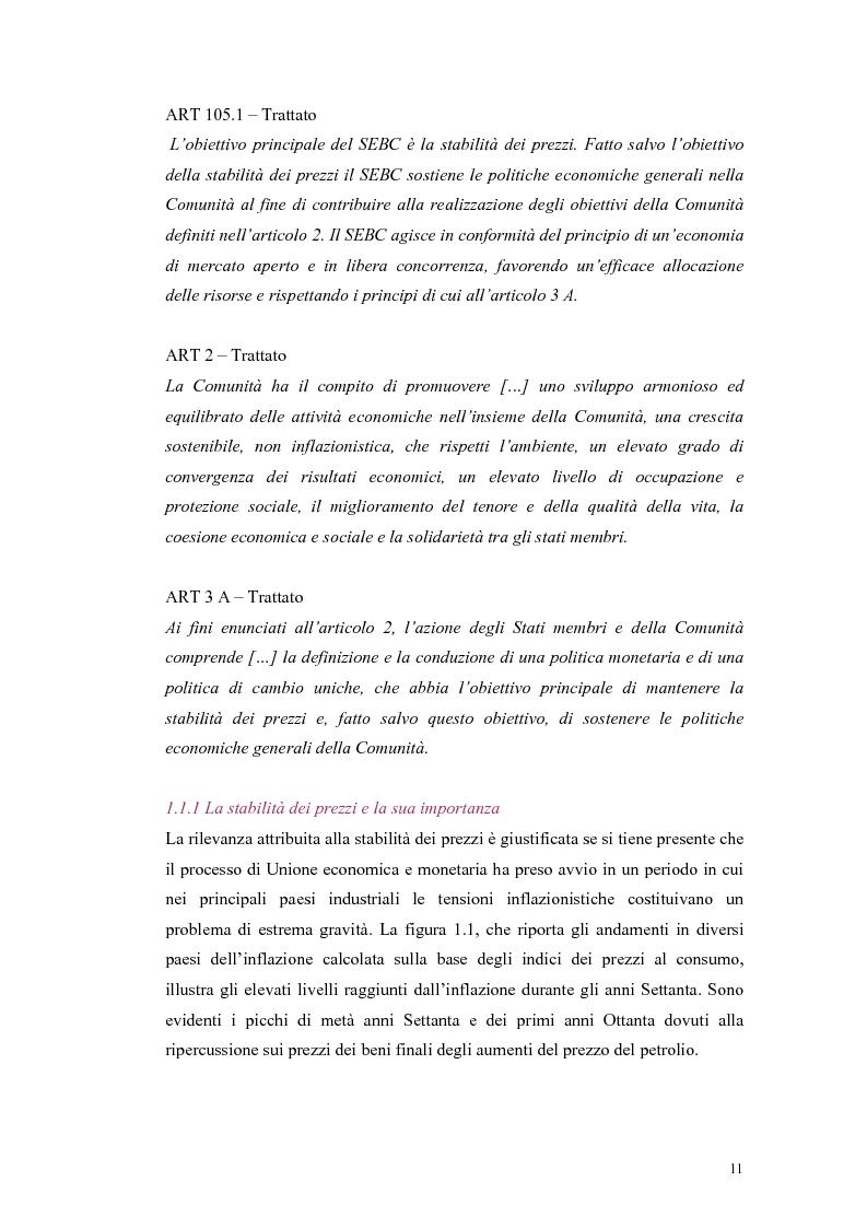 Anteprima della tesi: Il ruolo della politica monetaria nel G3, Pagina 9