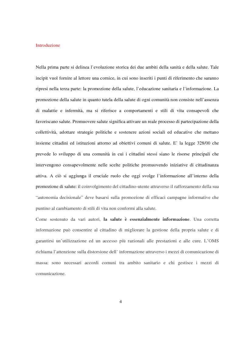 Anteprima della tesi: La Pianificazione Sanitaria in Emilia Romagna: I Piani per la salute e la priorità della sicurezza stradale, Pagina 1