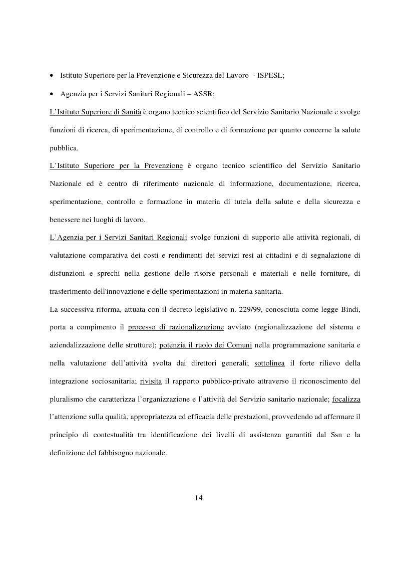 Anteprima della tesi: La Pianificazione Sanitaria in Emilia Romagna: I Piani per la salute e la priorità della sicurezza stradale, Pagina 11
