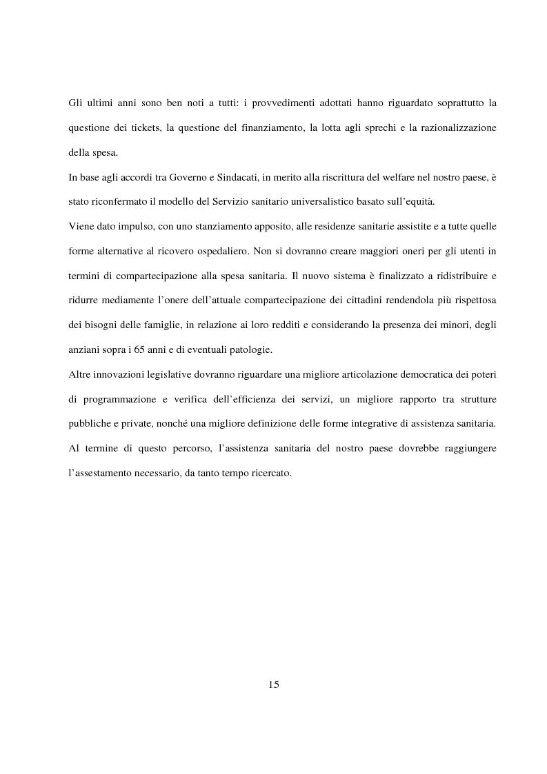 Anteprima della tesi: La Pianificazione Sanitaria in Emilia Romagna: I Piani per la salute e la priorità della sicurezza stradale, Pagina 12