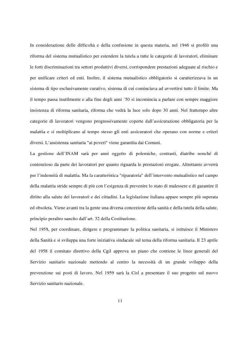 Anteprima della tesi: La Pianificazione Sanitaria in Emilia Romagna: I Piani per la salute e la priorità della sicurezza stradale, Pagina 8