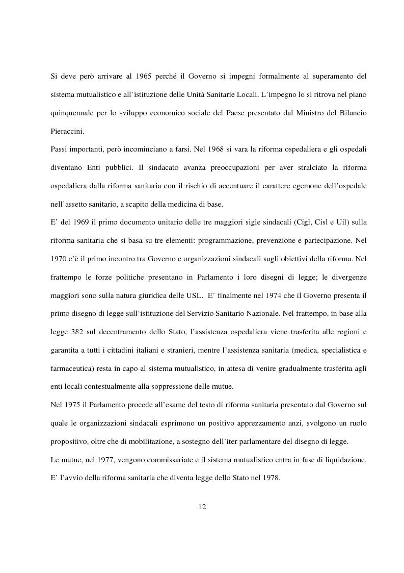 Anteprima della tesi: La Pianificazione Sanitaria in Emilia Romagna: I Piani per la salute e la priorità della sicurezza stradale, Pagina 9