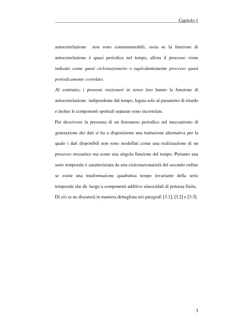 Anteprima della tesi: Filtraggio lineare di segnali ciclostazionari, Pagina 3