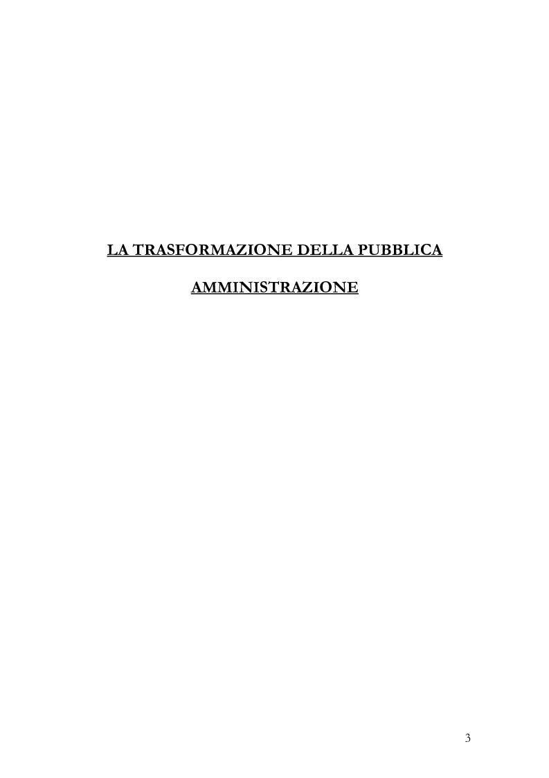 Anteprima della tesi: Il Management delle regole, Pagina 1