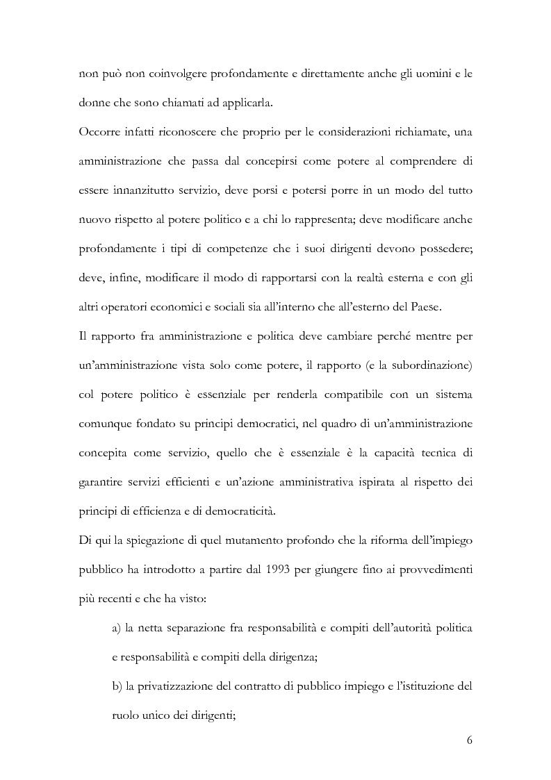 Anteprima della tesi: Il Management delle regole, Pagina 4