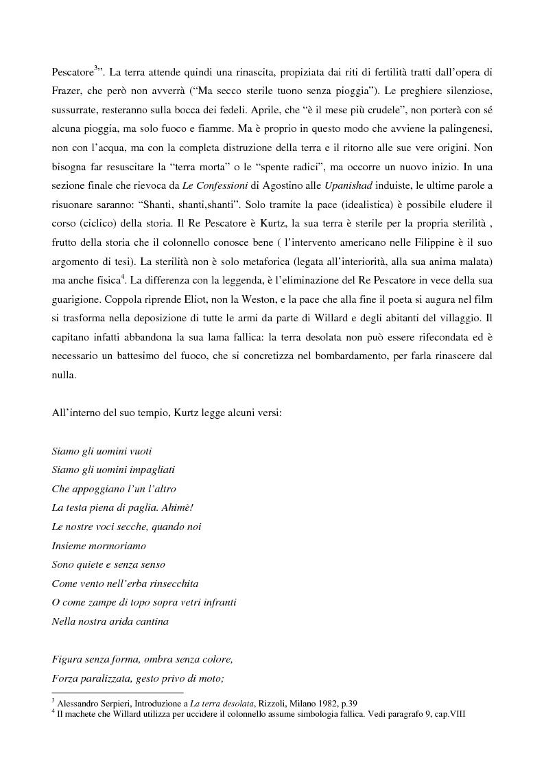 Anteprima della tesi: This is the end... Analisi testuale di Apocalypse Now di F.F.Coppola, Pagina 2