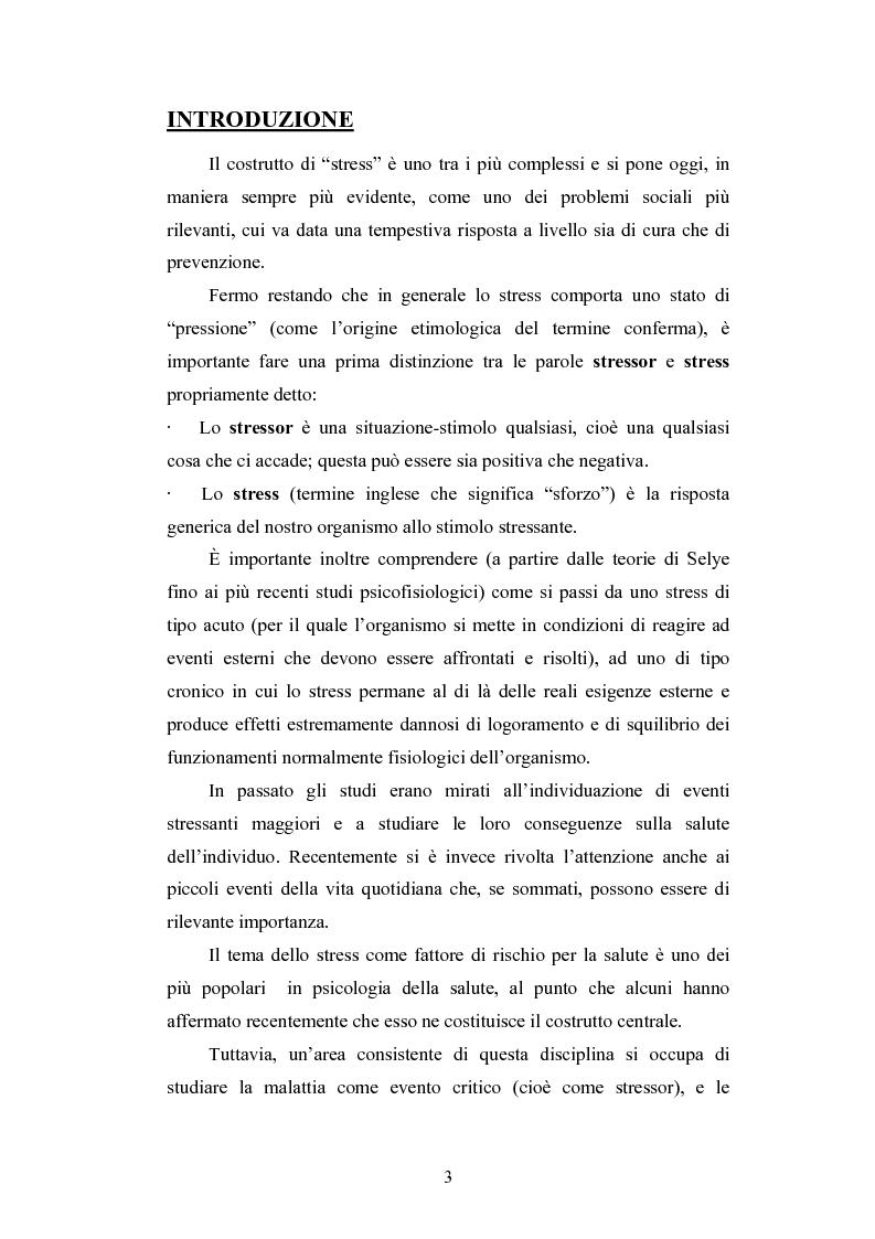 Anteprima della tesi: Lo stress nelle persone disabili affette da neuropatia genetica progressiva: il caso della Charcot-Marie-Tooth, Pagina 1