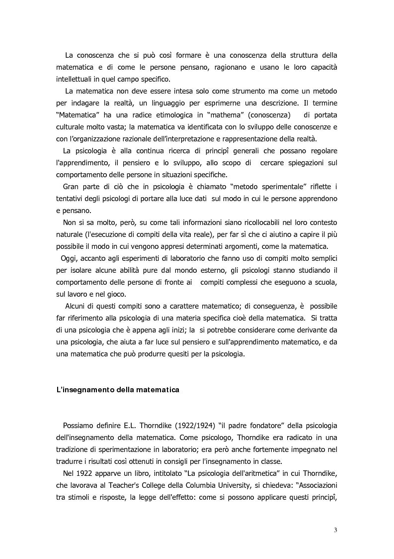 Anteprima della tesi: Il ragionamento matematico nei problemi impossibili, Pagina 2