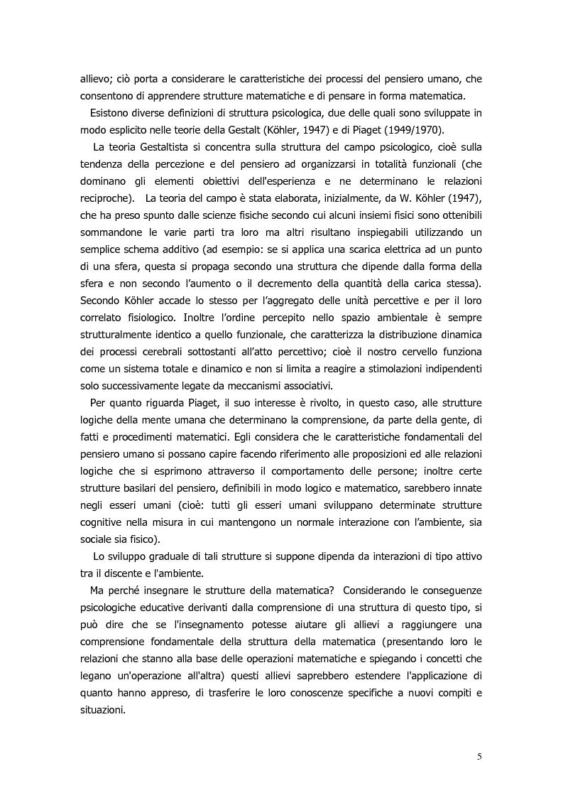 Anteprima della tesi: Il ragionamento matematico nei problemi impossibili, Pagina 4
