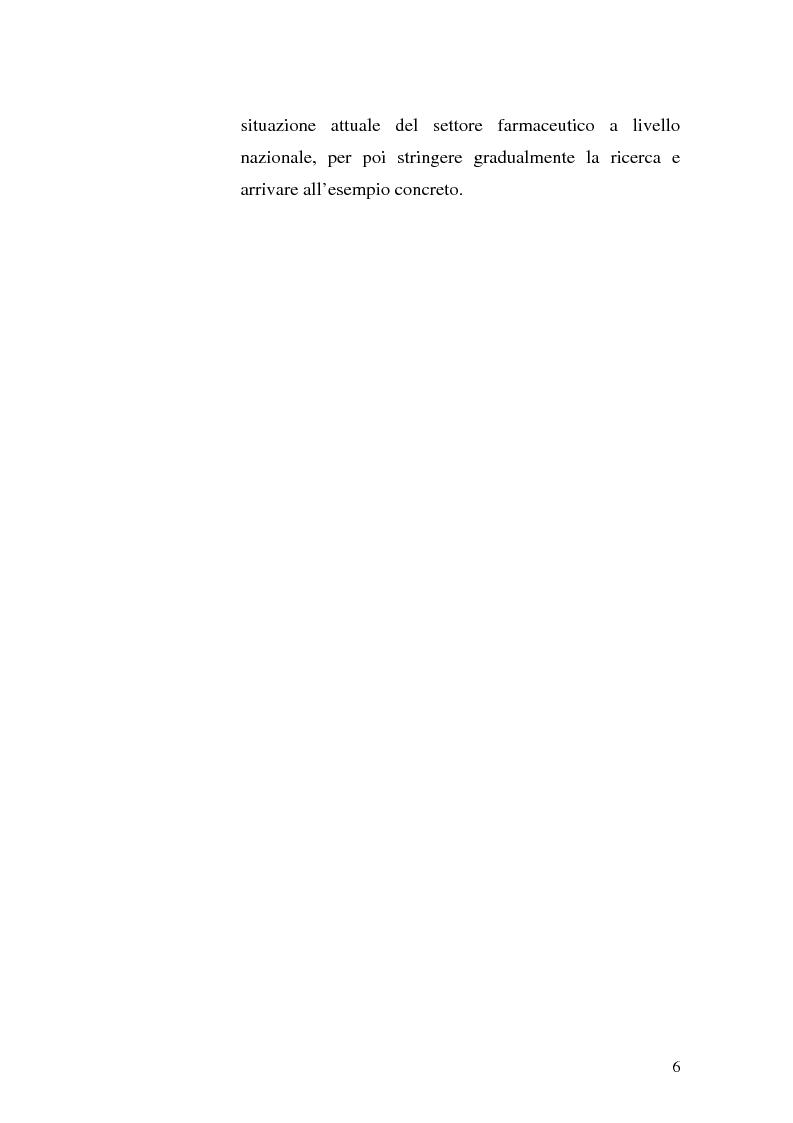 Anteprima della tesi: La distribuzione intermedia del farmaco: il cosourcing come soluzione logistica, Pagina 2