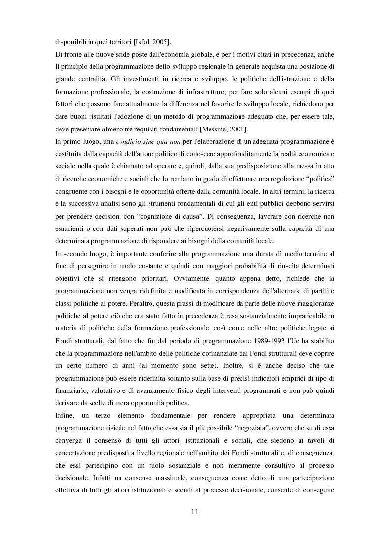 Anteprima della tesi: Il partenariato nel Fondo sociale europeo: i casi di Veneto ed Emilia-Romagna, Pagina 8
