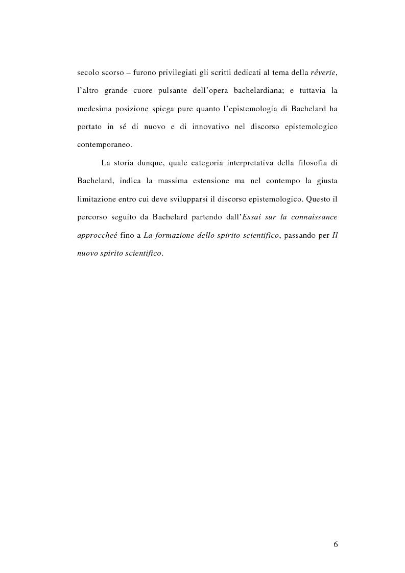 Anteprima della tesi: La conoscenza approssimata e l'ostacolo epistemologico nel primo Bachelard, Pagina 5