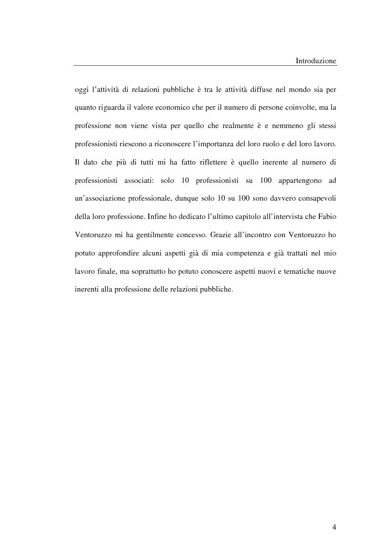 Anteprima della tesi: I metodi delle relazioni pubbliche e il ruolo della professione, Pagina 2