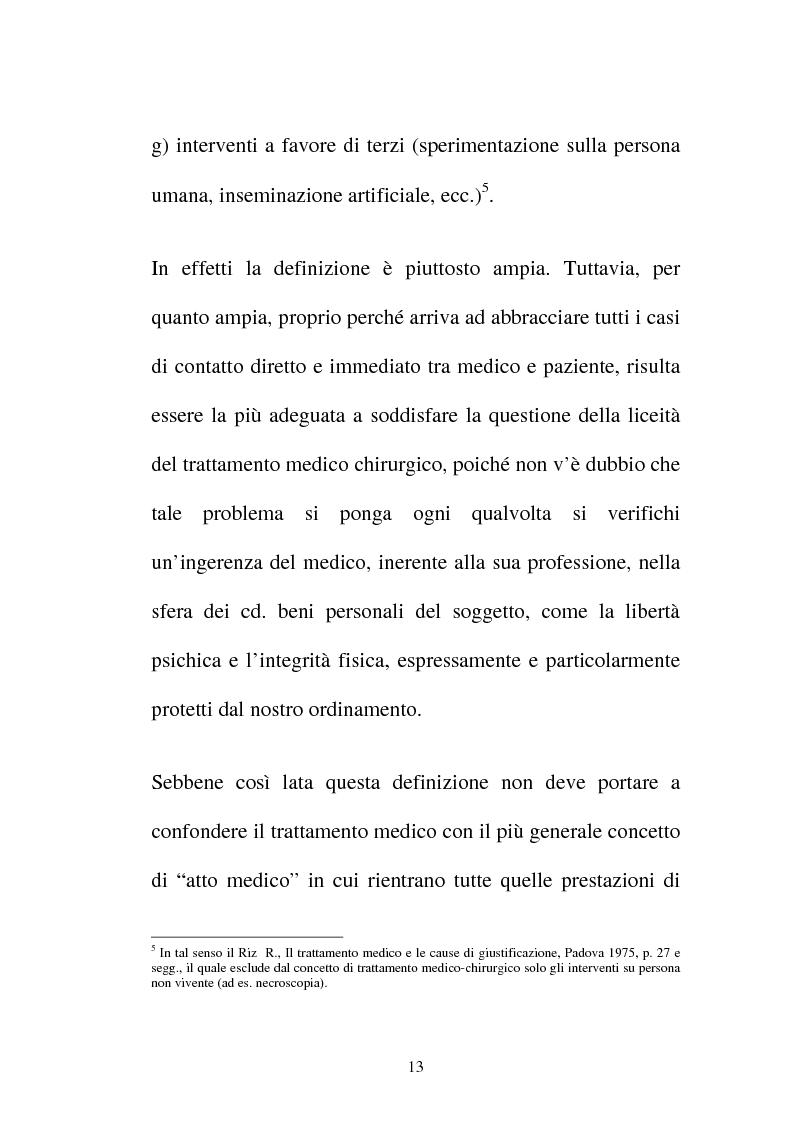 Anteprima della tesi: Disciplina giuridica del consenso informato, Pagina 10