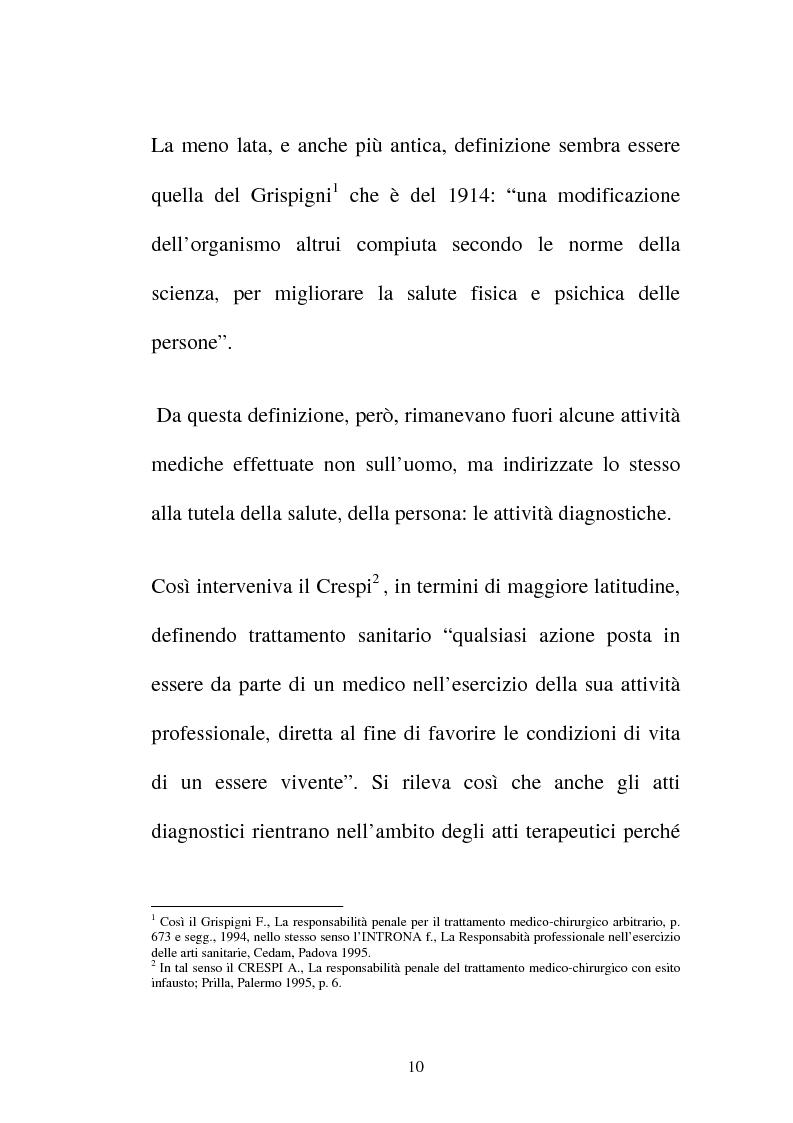Anteprima della tesi: Disciplina giuridica del consenso informato, Pagina 7