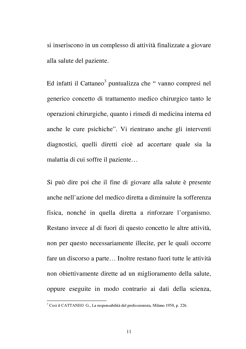 Anteprima della tesi: Disciplina giuridica del consenso informato, Pagina 8