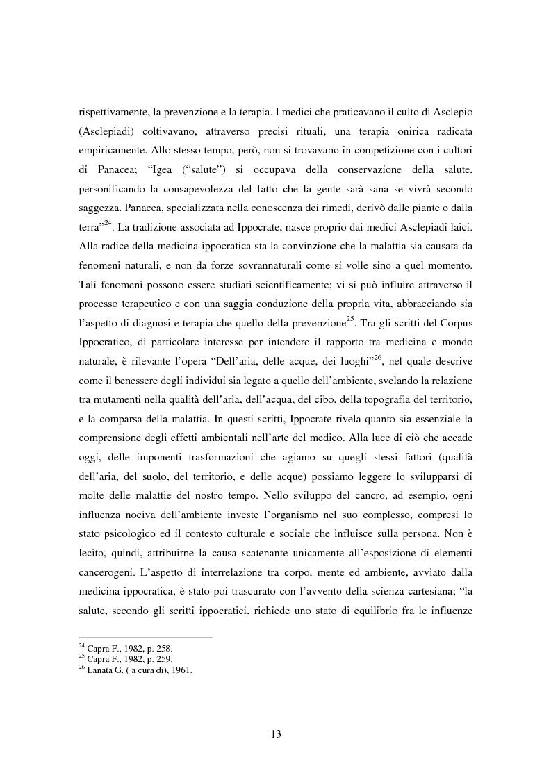 Anteprima della tesi: Il bene comune del territorio: sentire ecologico e cittadinanza nelle pratiche psicosociali, Pagina 10