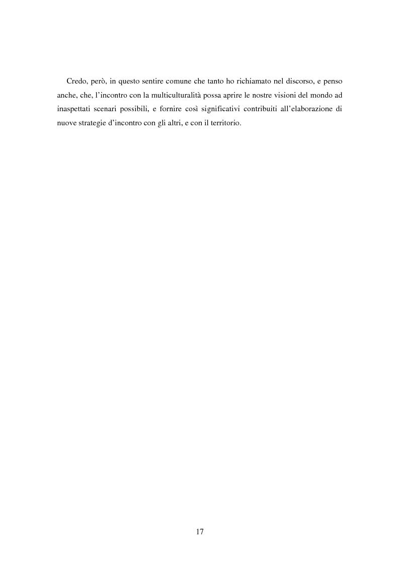 Anteprima della tesi: Il bene comune del territorio: sentire ecologico e cittadinanza nelle pratiche psicosociali, Pagina 14