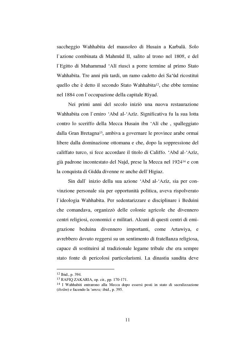 Anteprima della tesi: Din - Dunya - Dawla, Il significato politico dell'Islam tra conformità al modello ideale e potere reale, Pagina 11