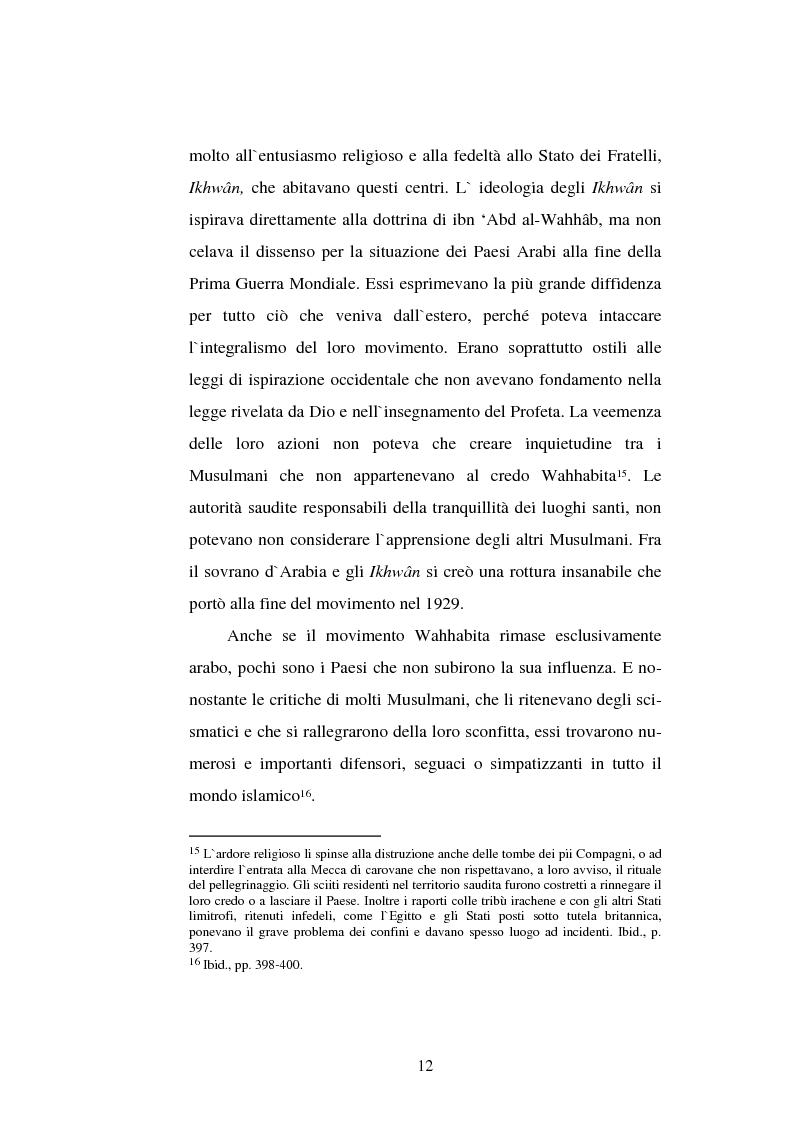 Anteprima della tesi: Din - Dunya - Dawla, Il significato politico dell'Islam tra conformità al modello ideale e potere reale, Pagina 12