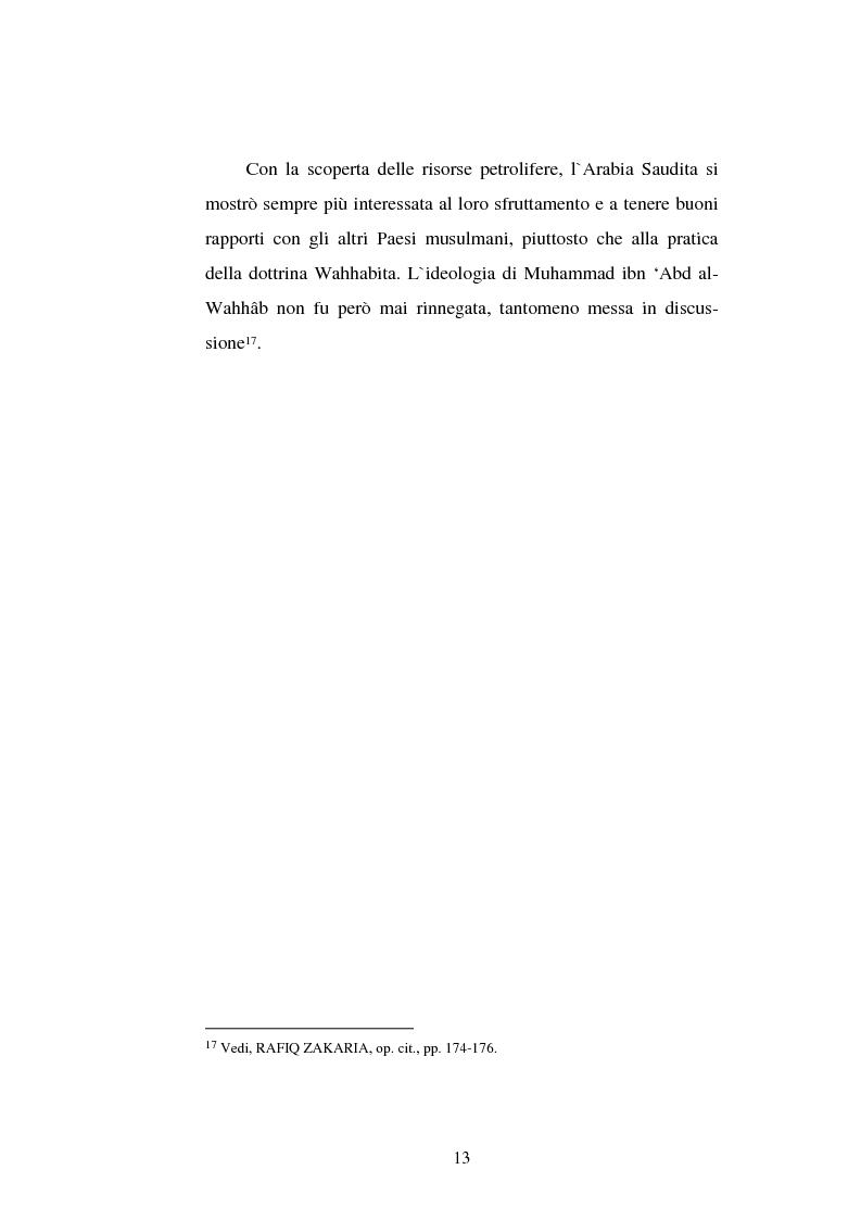 Anteprima della tesi: Din - Dunya - Dawla, Il significato politico dell'Islam tra conformità al modello ideale e potere reale, Pagina 13
