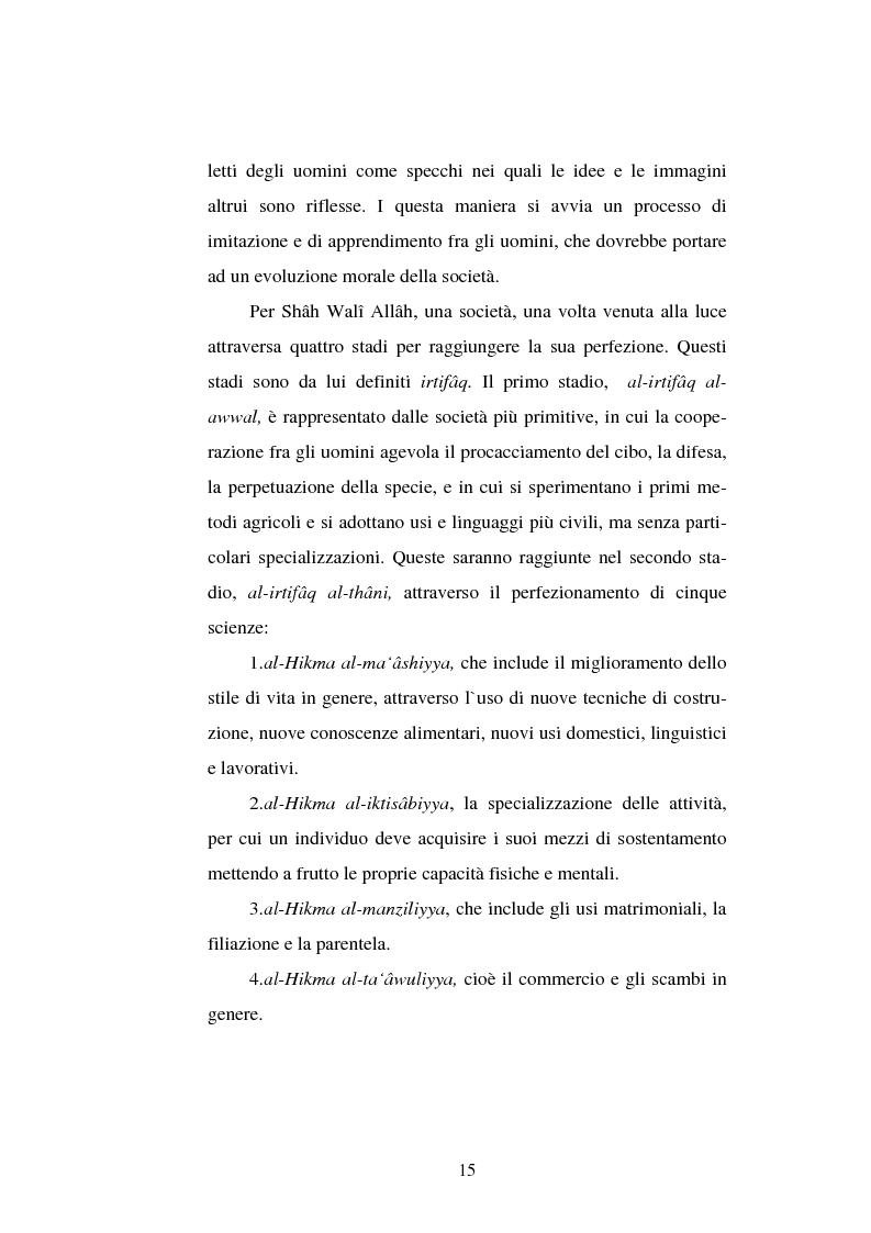 Anteprima della tesi: Din - Dunya - Dawla, Il significato politico dell'Islam tra conformità al modello ideale e potere reale, Pagina 15