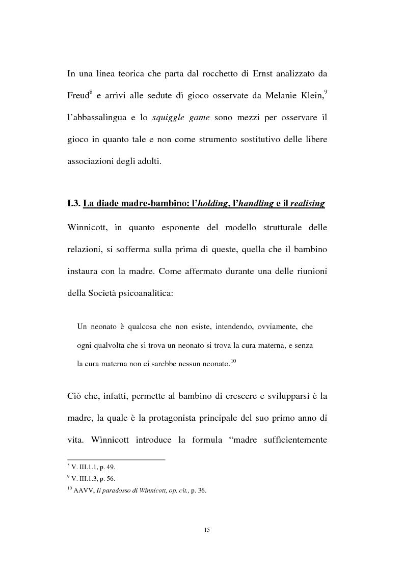 Anteprima della tesi: L'oggetto transizionale nell'epoca virtuale, Pagina 12