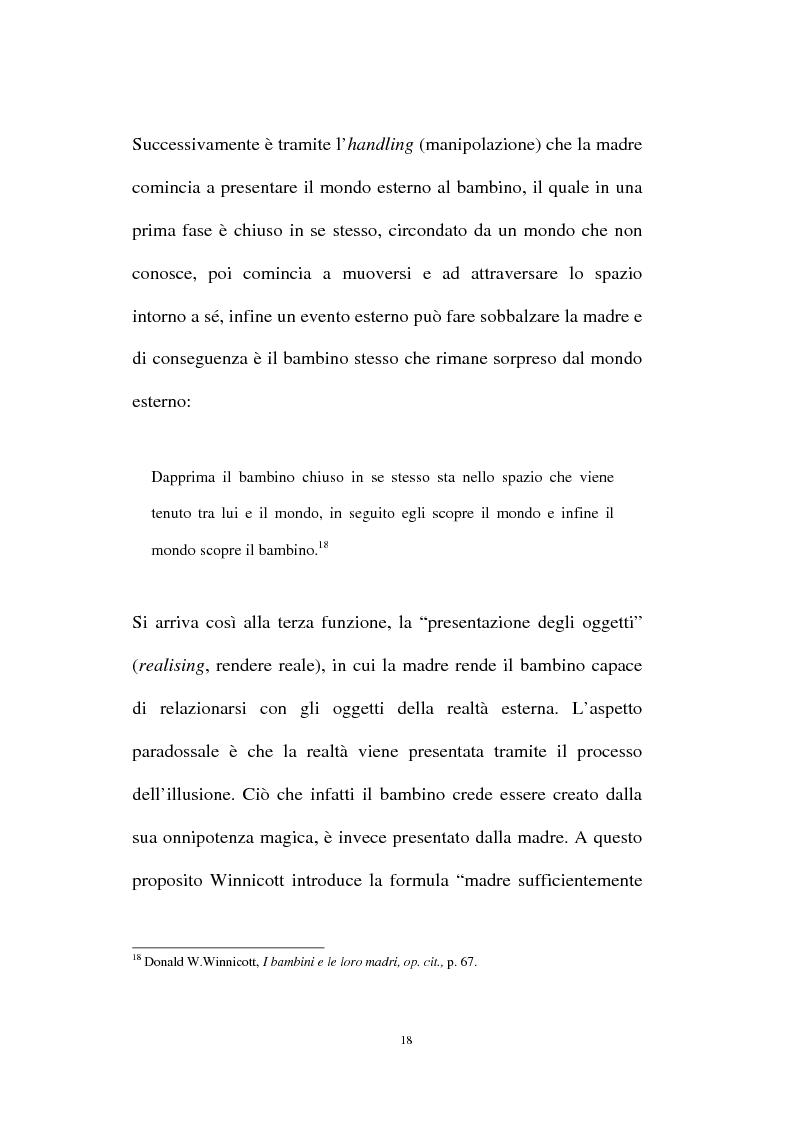 Anteprima della tesi: L'oggetto transizionale nell'epoca virtuale, Pagina 15