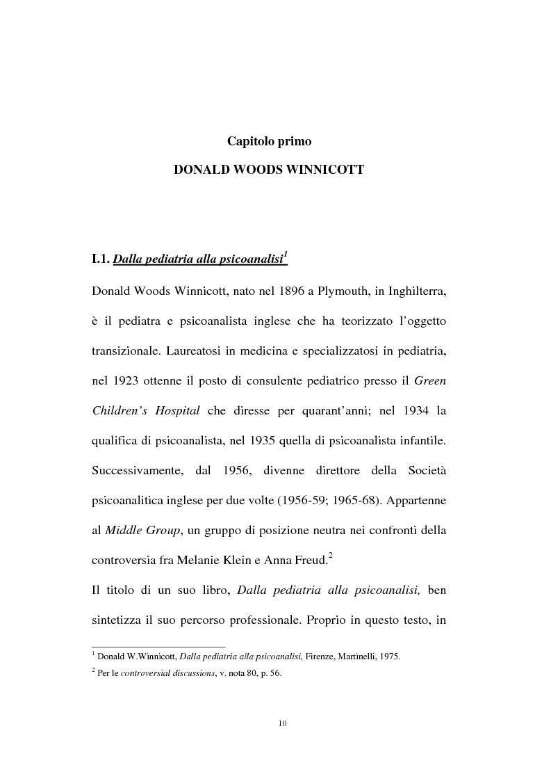 Anteprima della tesi: L'oggetto transizionale nell'epoca virtuale, Pagina 7