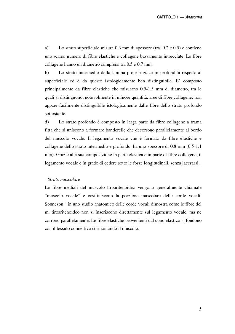 Anteprima della tesi: Ruolo della chirurgia laser nel trattamento delle recidive di carcinoma spinocellulare della laringe glottica in fase iniziale dopo radioterapia, Pagina 5