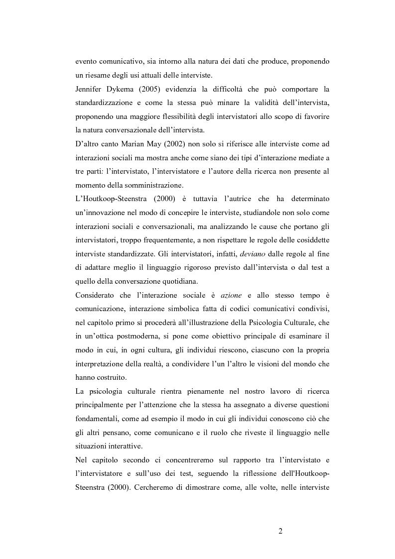 Anteprima della tesi: L'Hamilton Rating Scale for Depression: la somministrazione come pratica interattiva., Pagina 2