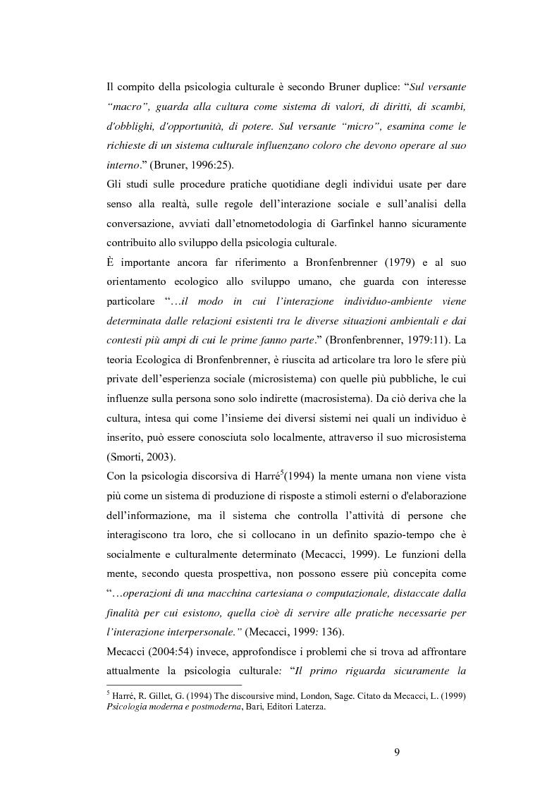 Anteprima della tesi: L'Hamilton Rating Scale for Depression: la somministrazione come pratica interattiva., Pagina 9