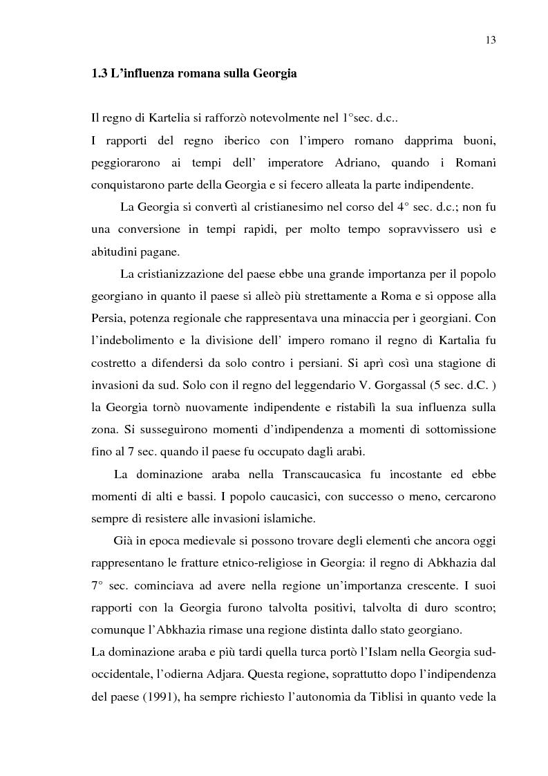 Anteprima della tesi: Dal collasso ad una lenta rinascita. La Georgia dal 1989 al 2000, Pagina 10